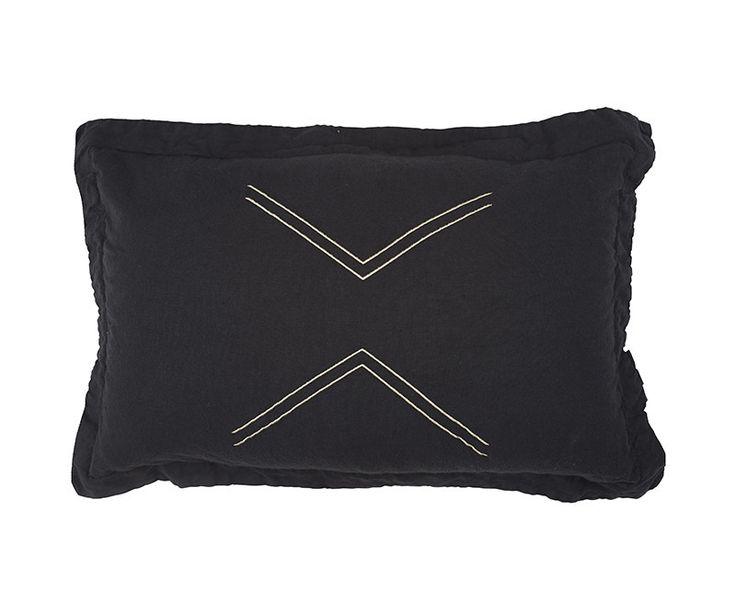 Lil Nomads Cushion - Dark Char