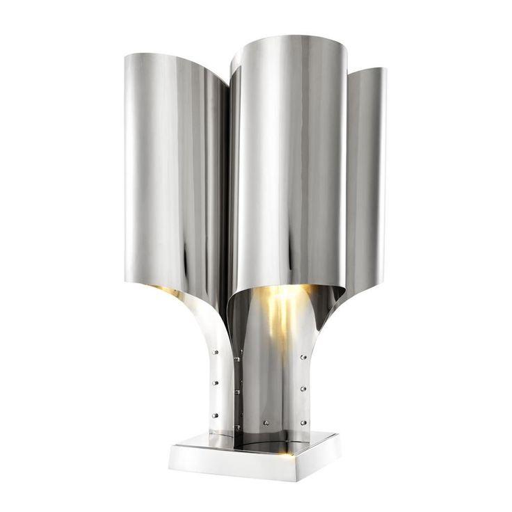 Silver Table Lamp | Eichholtz Spiaggia | OROA Modern & Luxury Furniture