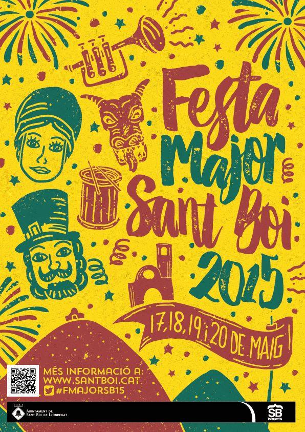 Festa Major de Sant Boi 2015 (CONCEPT) on Behance