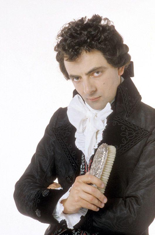Rowan Atkinson as Mr. E. Blackadder in Blackadder the Third