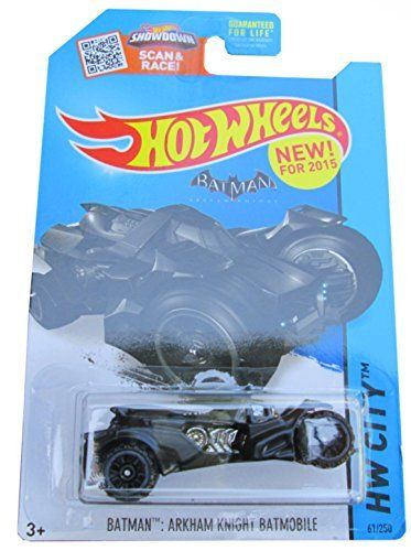 2015 Hot Wheels Hw City - Batman : Arkham Knight Batmobile (NEW!) Model:  Toys & Games for Kids & C @ niftywarehouse.com