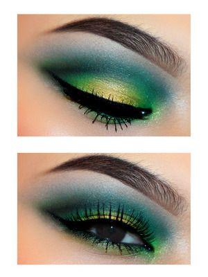 forrest #green #makeup                                                                                                                                                                                 More