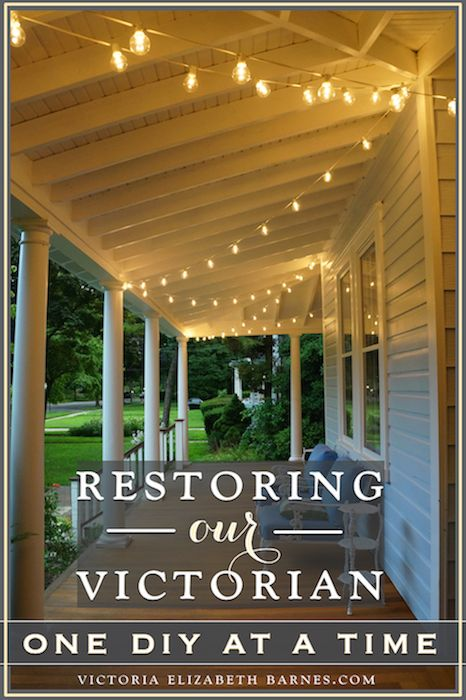 How we ended up buying a falling-down Victorian house & what it's like to do a DIY renovation with your husband.