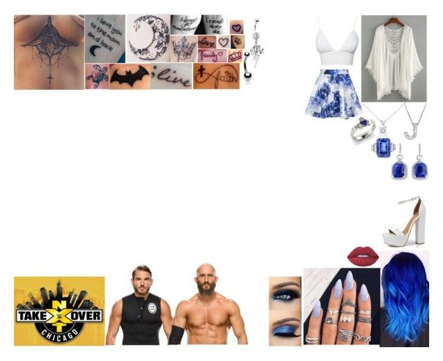 """Walking #DIY Out To Their Match At NXT TakeOver: Chicago"" by belabmilagres on Polyvore featuring Topshop, Club L, Lime Crime, Boohoo, Blue Nile, Roberto Coin, Diamondere and Bling Jewelry"