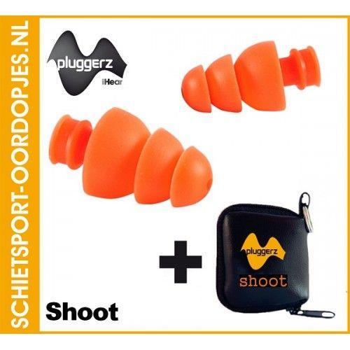 Schietsport-Oordopjes.nl #Pluggerz Shoot oordopjes voor de jachtsport en schietsport online te bestellen in onze webshop. Voorkom #gehoorbeschadiging door het dragen van gehoorbescherming op de schietbaan.