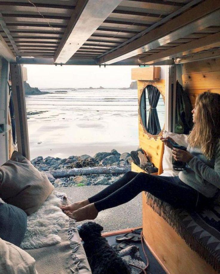 Admirable Camper Van Interior Decor Ideas
