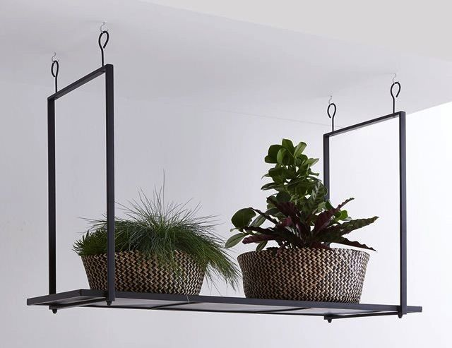 17 best ideas about etagere metal on pinterest bibliotheque metal etagere - Etagere suspendue cable plafond ...