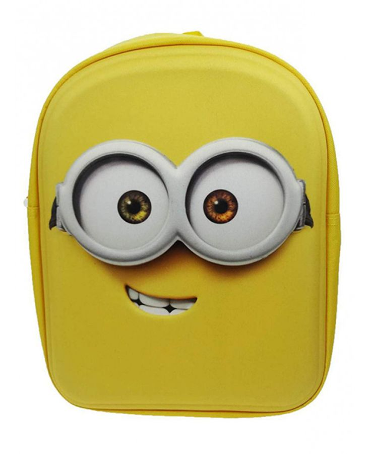 The bag is moulded to resemble one of the loveable minion's face, perfect for any little minion fans! Free UK delivery available