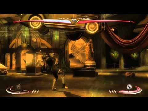 Injustice: Gods Among Us The Flash vs reverse Flash  (Blackest night)