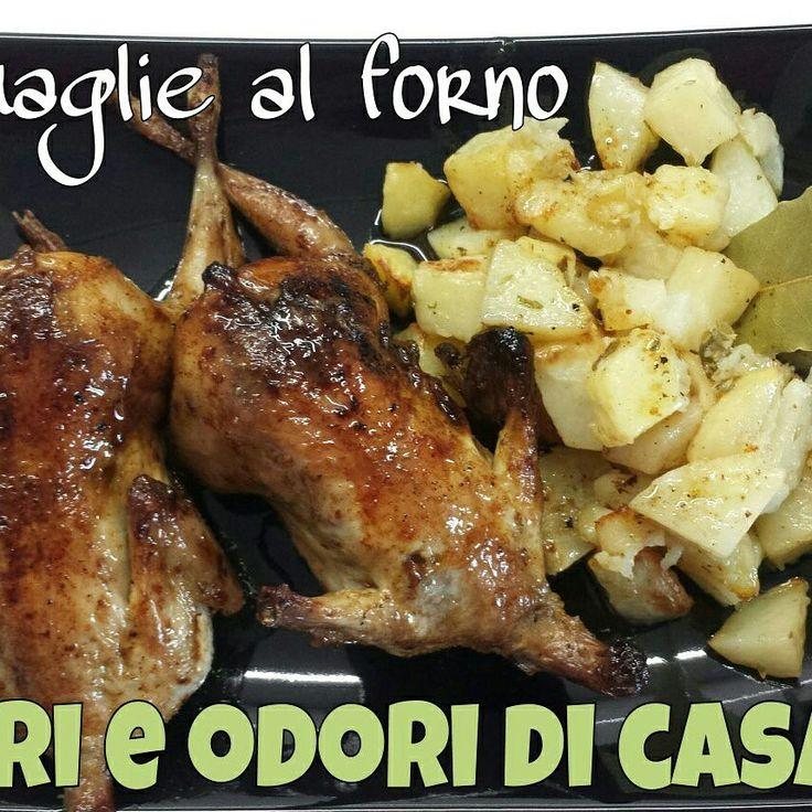 #Quagliealforno #Quaglie #goodfood #food