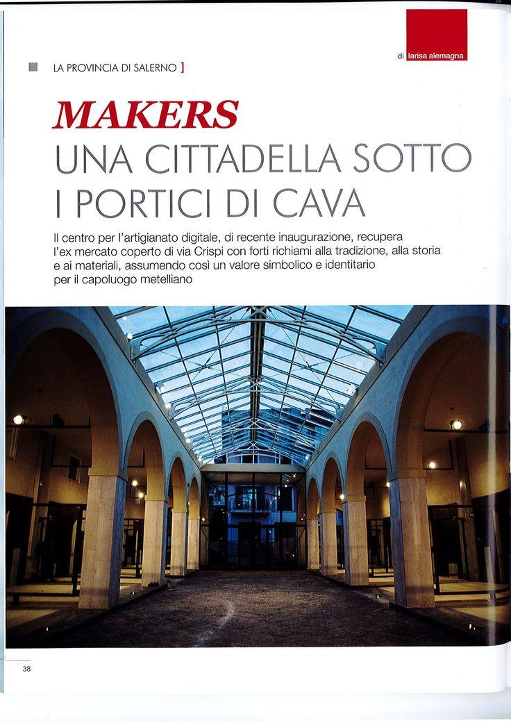 """Il Centro per l'Artigianato Digitale è sulla Rivista """"Progetto"""", n. 02 del 2016."""