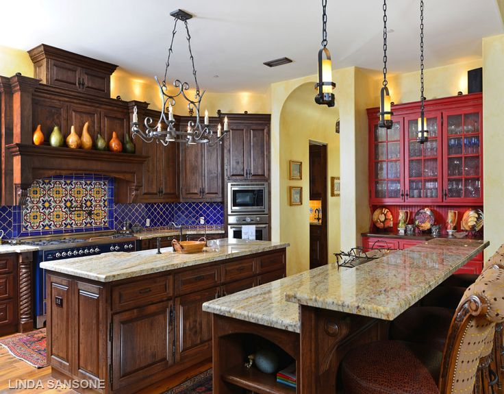 30 best kitchen spanish colonial images on pinterest for Colonial revival kitchen design