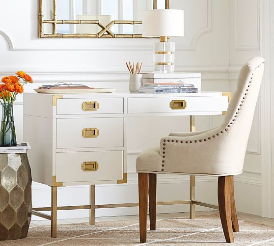 Allais Campaign Desk | Pottery Barn