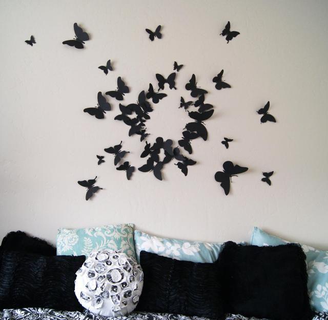 The 25+ best Butterfly wall art ideas on Pinterest Butterfly - butterfly template