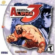 Street Fighter Alpha 3 - Dreamcast Game