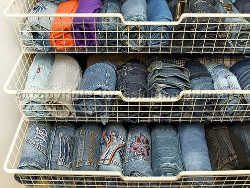 Best  geniale Beispiele f r Ordnung im Kleiderschrank