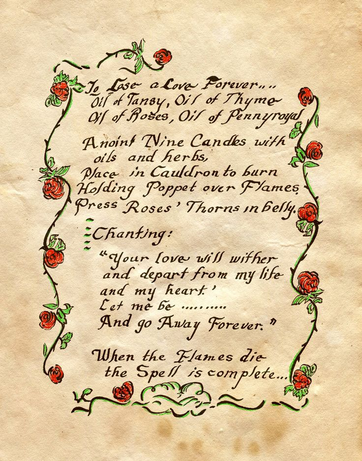"""Book of Shadows:  """"To Lose A Love Forever,"""" by Charmed-BOS, at deviantART."""