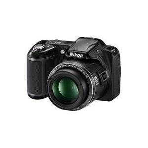 Nikon Coolpix L810 Digitalkamera (16 Megapixel, 26-fach opt. Zoom, 7,5 cm (3 Zoll) Display, bildstabilisiert) schwarz