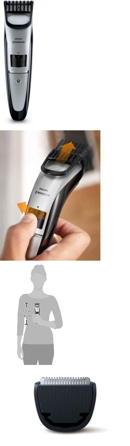 Shaving: Mens Electric New Rechargeable Beard Hair Clipper Trimmer Grooming Shaver Razor BUY IT NOW ONLY: $41.75