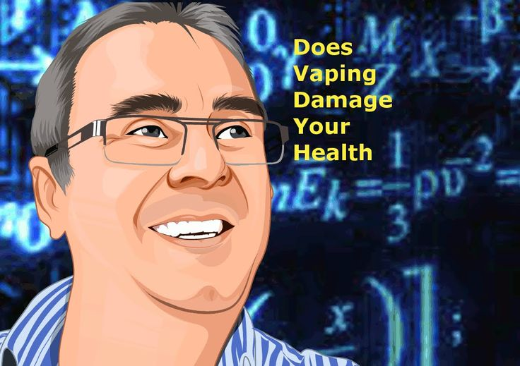 Is Vaping Bad for your health, NO!! lol