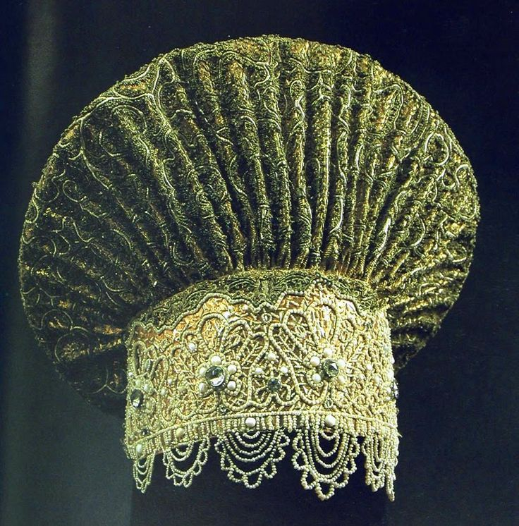 kind of traditional Russian headdress