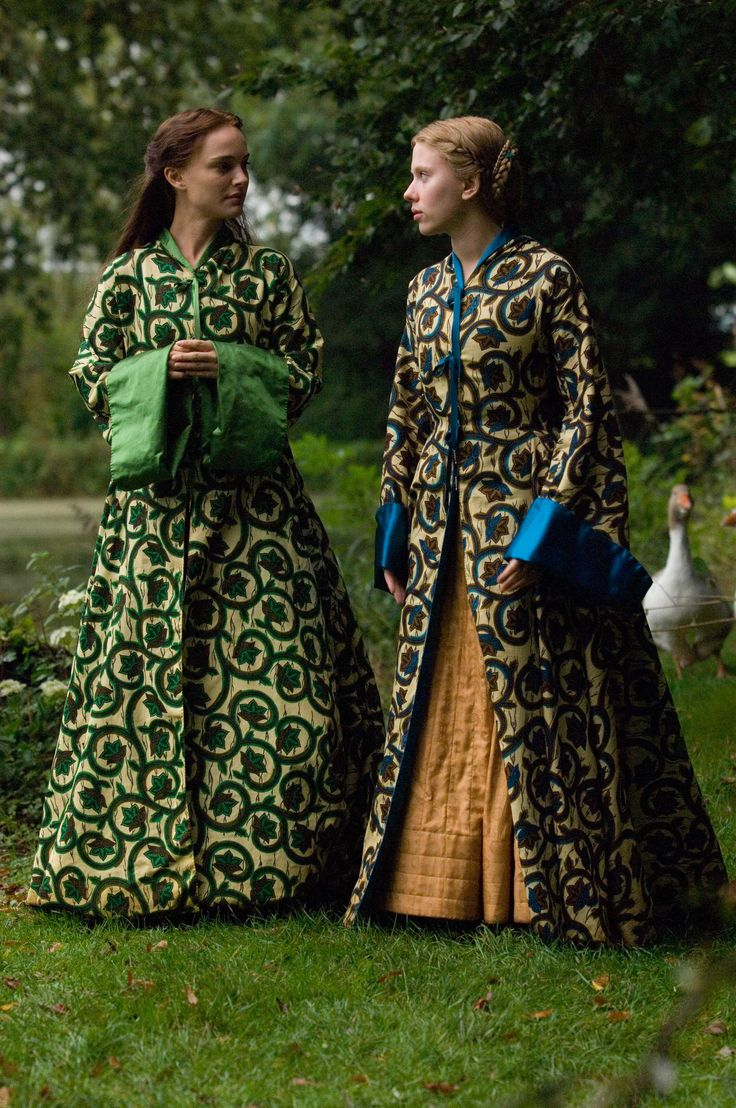 The Other boleyn girl, have seen a lot of arguments to support them as not period but they are just so pretty :O