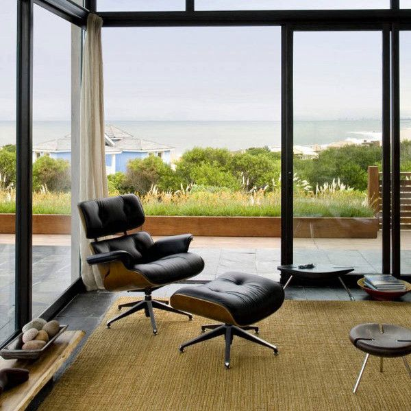 Luxurious Interior Lounge To Enhance Living Space In Any Style: Sensational  Iconic Eames Chair Furniture In Modern Style For Inspiration Hom.