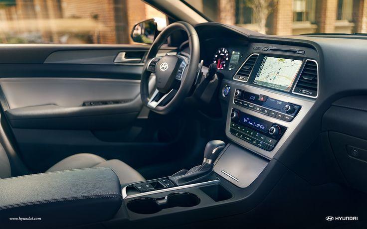 SONATA-HYUNDAI 2017 Hyundai Sonata Limited 2.0T interior