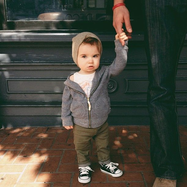 Hipster babies. How much more cuteness can you withstand??