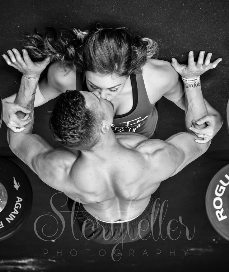 #engagement , #athletes, #athletic, #crossfit, #workout, #pushup, #kissing, #photos
