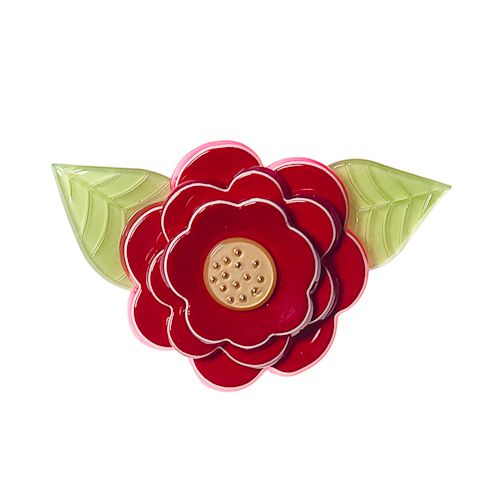 **VERY RARE, LAST ONE!** Limited edition Erstwilder Rosalita brooch by Louisa Camille. $34.95