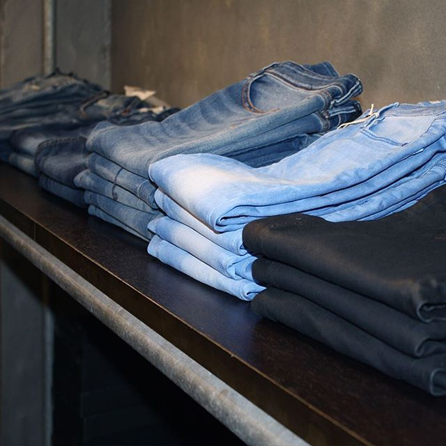 The jeans line up 👌🏼👖