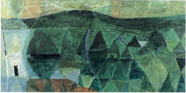 Krajobraz z Łagowa / Landscape of Lagowo [586202], Piotr Potworowski