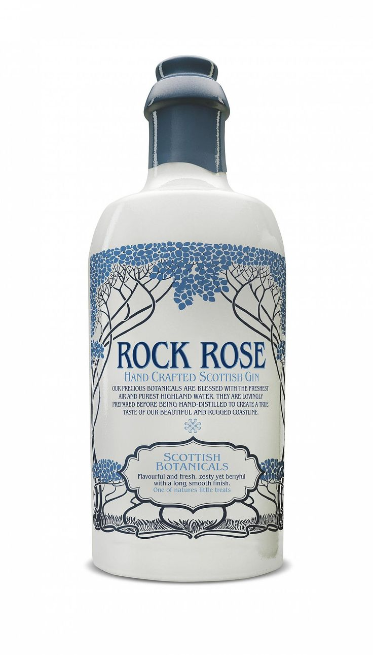 ✔️ Rock Rose Gin 8/10 Tangy. Dry finish