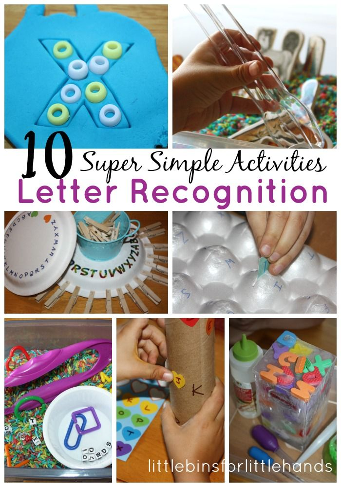 10 Quick And Simple Fine Motor Alphabet Activities | Toddler Approved | Pinterest | Activities, Alphabet activities and Learning