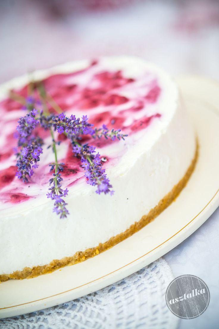 Nyári különlegesség. Áfonyás joghurtos torta. www.asztalka.com