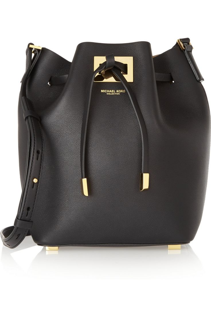 Michael Kors | Miranda small leather bucket bag | NET-A-PORTER.COM