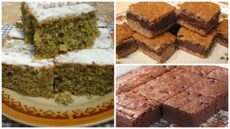 3 gyorsan elkészíthető egyszerű kavart sütemény