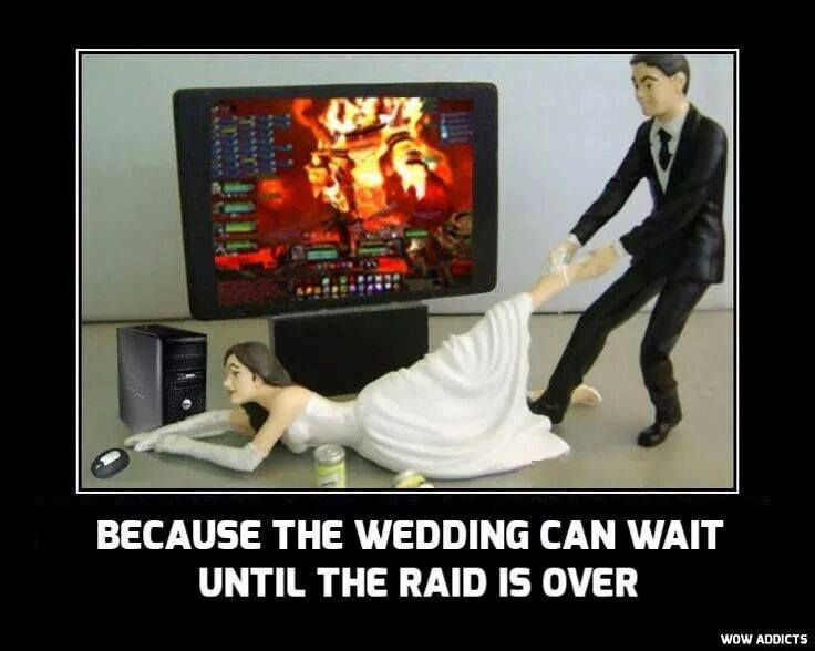 Finally nice to see a depiction of the woman being addicted to gaming. Its always the wife dragging the husband. There are a lot of female gamers out there obviously. Download the best WoW addon EVER ! >>> www.World-of-warcraft-Gold-Addon.com <<<