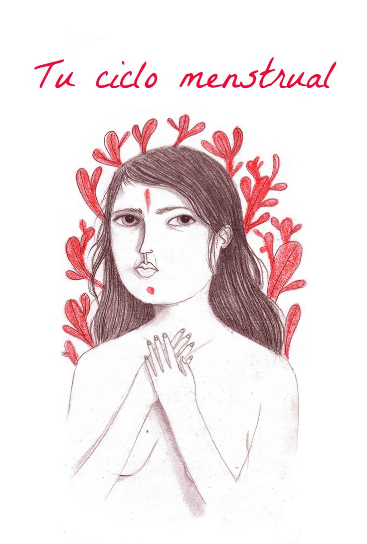 Tu ciclo menstrual. Casa de Luna