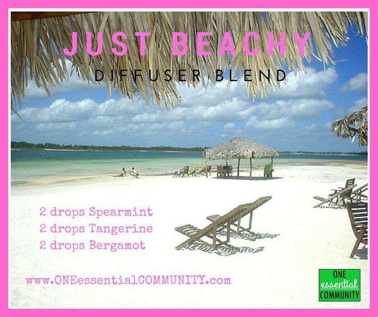 Just beachy diffuser blend