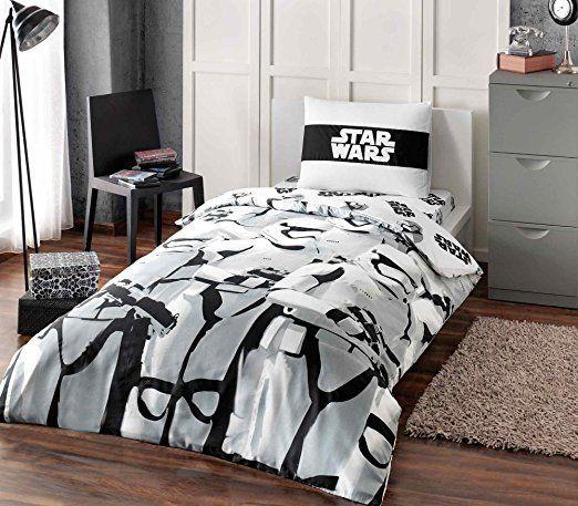 Amazon.com: Star Wars Single/Twin %100 Duvet Cover Set Bedding Linens - Special Serial - 3 Pcs (Star Wars C-3PO): Home & Kitchen