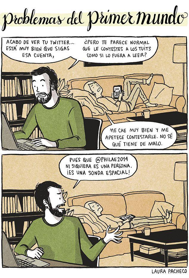 Problemas del primer mundo: Twitter
