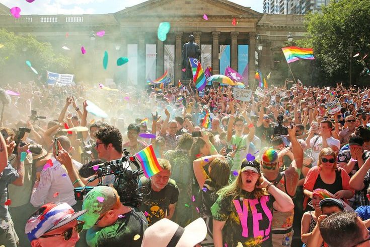 Australians Say 'Yes' to Same-Sex Marriage, Clearing Path for Legalization - The New York Times
