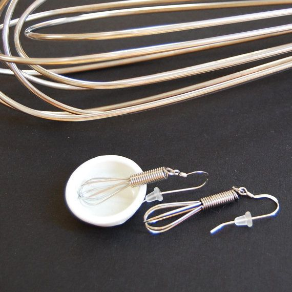 Let Me Whisk YOU Away  Mini Working Wire Whisk by YOUgNeek on Etsy, $20.99