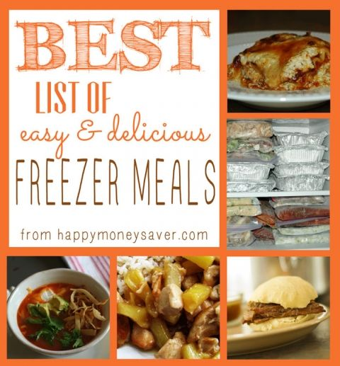 BEST freezer meals -- one of the best sites, by far, that I've seen and all the recipies are in a google doc that is easy to save/download to my own account! #freezermeals Make Ahead Freezer Meals for a month