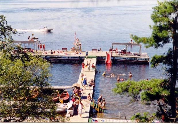 Red Pine Camp on Golden Lake (in Ontario, CANADA) is a wonderful camp experience for families.
