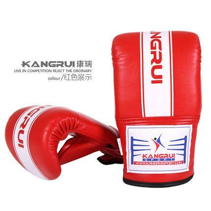 bend style punching bag gloves MMA Muay Thai Gym Punching Bag Mitt Train Sparring Kick Boxing Gloves