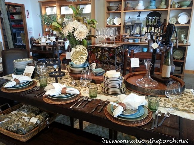 Table setting ideas for fall halloween coffee server for Dining room setup ideas