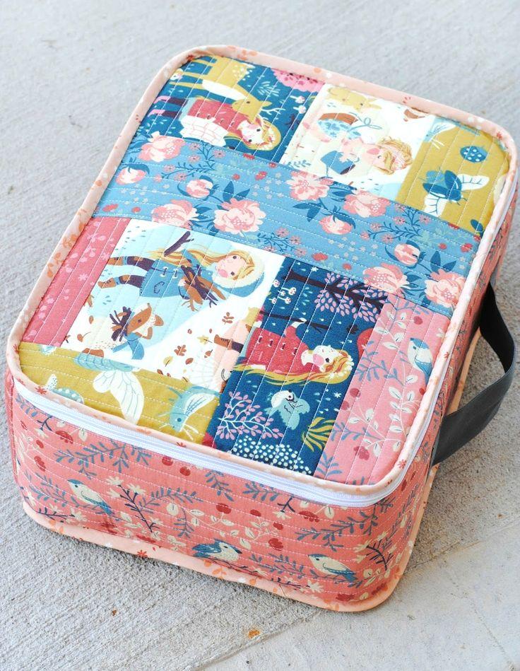 Manualidades como hacer maletas patrones - Como hacer pachwork ...